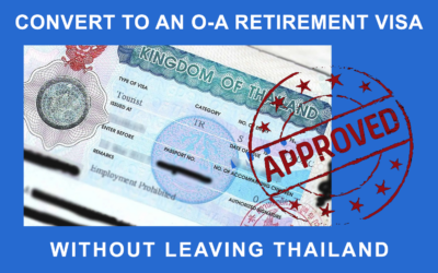 Convert to an O-A Retirement Visa